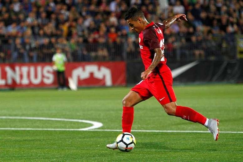 Arana podría llegar al Galatasaray en invierno. EFE