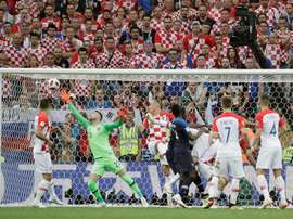 Francia y Croacia se volverán a ver las caras en la Nations League. EFE/Archivo
