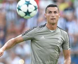 Cristiano debutará en la Serie A ante el Chievo Verona. EFE