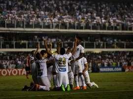 Santos venció a Oeste. EFE/Archivo