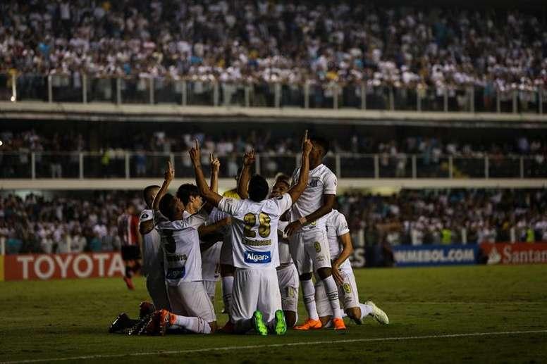 Santos solo sacó un empate ante Vasco. EFE/Archivo