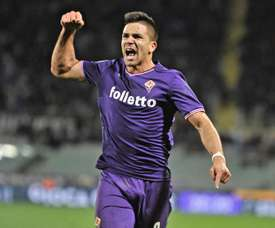 Giovanni Simeone is contracted at Fiorentina until 2022. EFE