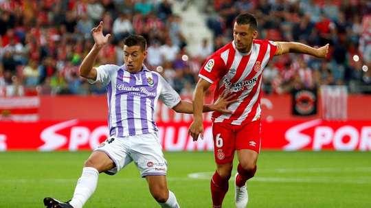 Rubén Alcaraz está en la órbita del Sevilla. EFE
