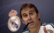 O treinador do Real Madrid, Julen Lopetegui na conferencia de imprensa antes do jogo da laliga. EFE