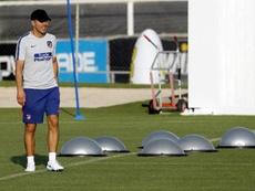 El 'Cholo' apostará por Filipe Luis y Correa. EFE