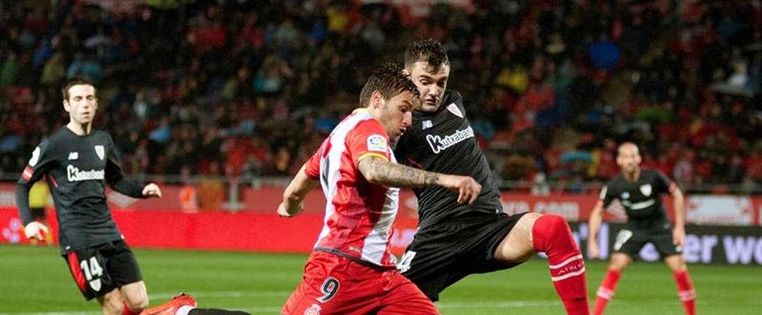 Andoni López jouera à Almería. EFE/Archivo