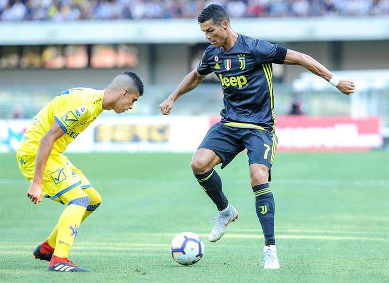 Cristiano, la atracción del Chievo-Juventus. EFE