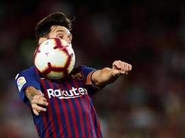 Huesca se déplace au Camp Nou lors de la troisième journée. EFE