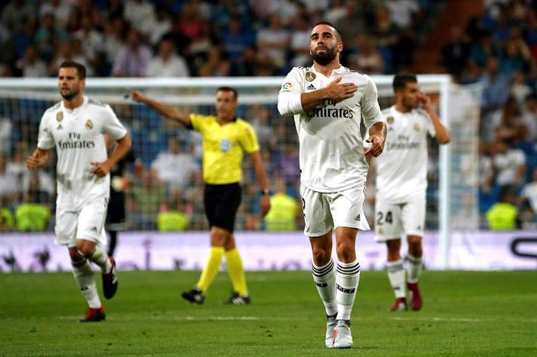 Carvajal will have to sit out the game. EFE