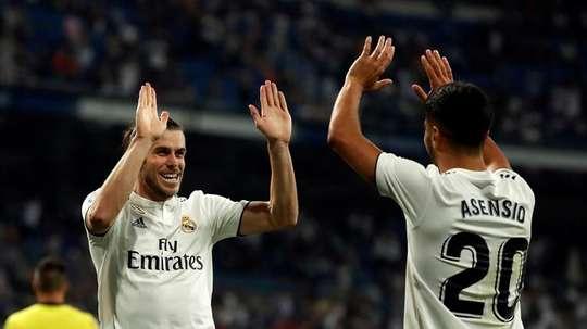 Lopetegui was full of praise for Bale at full-time. EFE