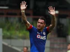 Caraglio anotó uno de los goles de la victoria de Cruz Azul. EFE