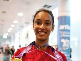 La atleta española María Vicente. EFE/Archivo