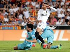 El Atlético comenzó bien, pero le faltó cerrar el partido con el 0-1 a su favor. EFE