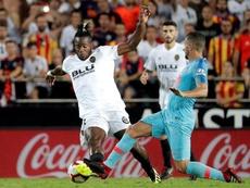 El Valencia se pareció mucho al Atlético. EFE