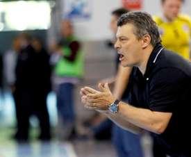 El entrenador del Barcelona Lassa, Xavi Pascual. EFE/Archivo