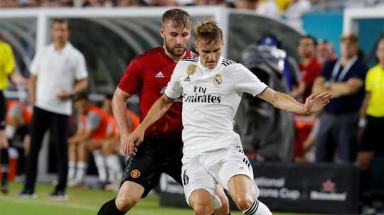 Odegaard has insisted that everything he does is in order to play for Real Madrid. EFE