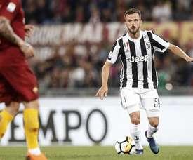 Pjanic parla del suo ruolo alla Juventus. EFE