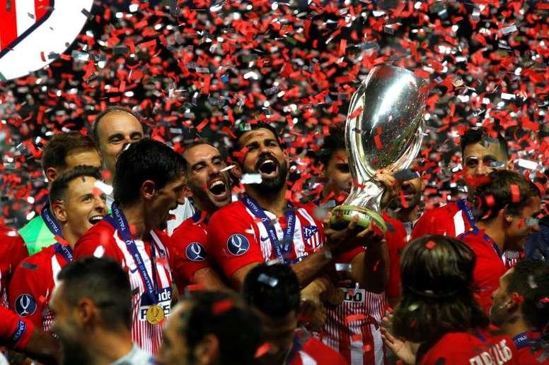 El Atlético ganó la última edición. EFE