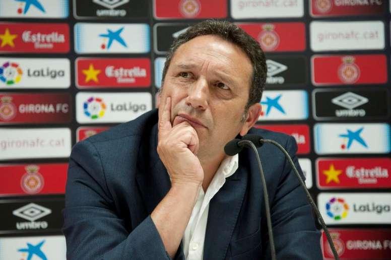 Eusebio ya prepara el choque ante el Madrid. EFE/Archivo