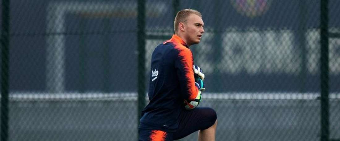 Cillessen looks set to leave Barcelona this summer. EFE