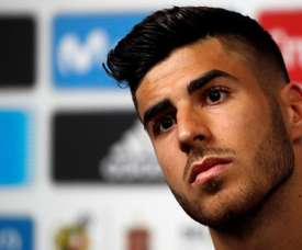 Asensio tackled all kinds of topics in the interview. EFE