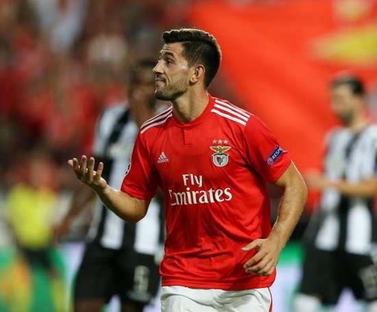 El Benfica perdió ante el Belenenses. EFE