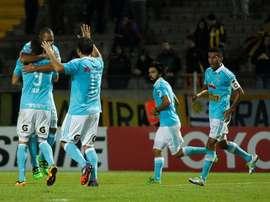 Cuando se suspendió el encuentro, Sporting Cristal ganaba 1-2. EFE/Archivo