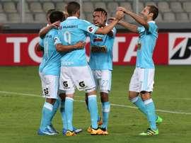 Sporting Cristal se clasificó para la Copa Libertadores. EFE