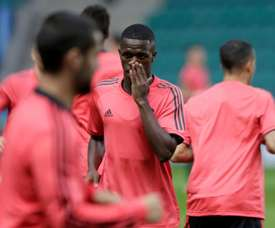 Vinicius has only played 12 minutes of first team football. EFE