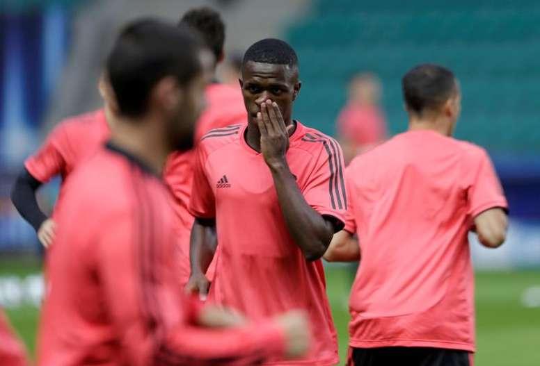 El Real Madrid no quiso convocar a Vinícius. EFE/Archivo