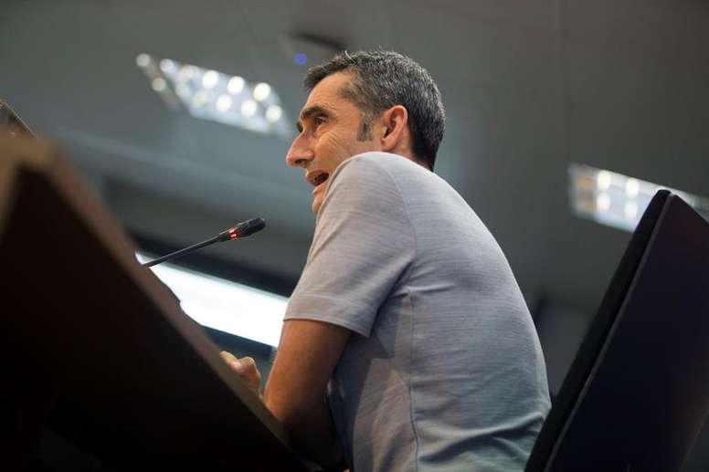 Valverde pourrait effectuer des rotations. EFE