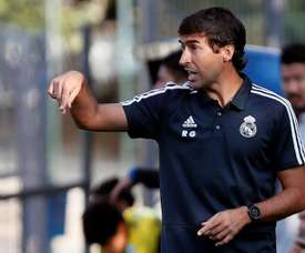 Raul is the new Real Madrid Castilla manager. EFE