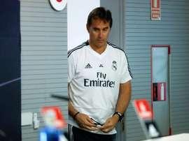 L'entraîneur du Real n'a pas révélé qui serait le titulaire contre Gérone. EFE
