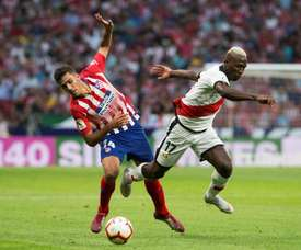 Rodri has told Atletico he wants to leave the club. EFE