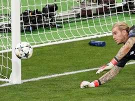 Karius a décliné l'invitation de Liverpool au Wanda Metropolitano. AFP
