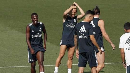 Le Real ne se précipite pas avec Vinicius. EFE