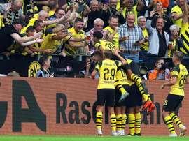 El Borussia ha vapuleado sin piedad al RB Leipzig. EFE/EPA