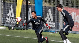 There was conflict between Courtois and Keylor. EFE