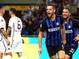 De Vrij habló sobre la llegada de Cristiano a la Serie A. EFE/EPA