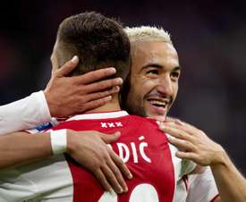 El Ajax está cerca de la clasificación. EFE
