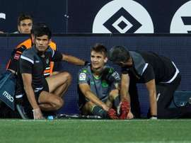 Diego Llorente comienza su recuperación. EFE