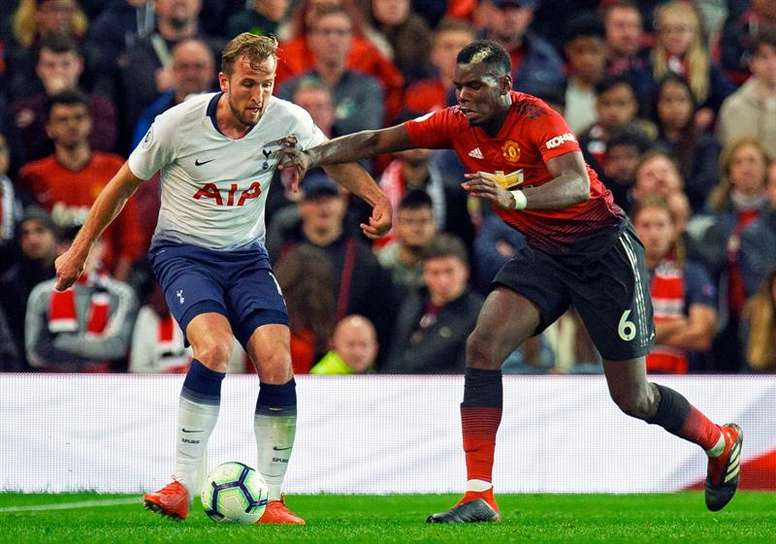 Les compos probables du match de Premier League entre Manchester United et Tottenham. EFE