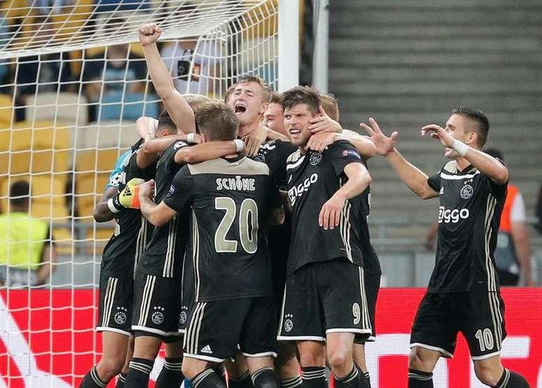 El Ajax milita en la Primera División Holandesa. EFE