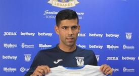 La idea de Juanfran pasa por seguir en el Leganés. EFE