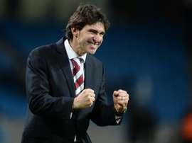 Karanka no se siente presionado en el Nottingham Forest. EFE/Archivo
