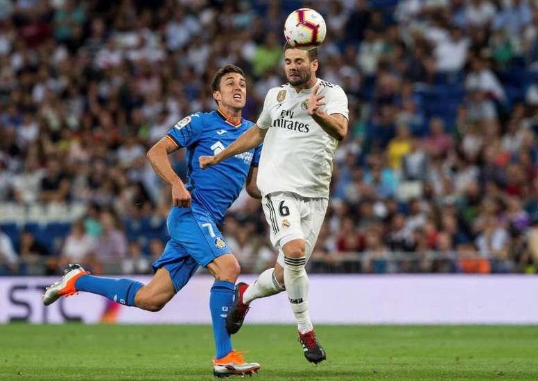 Jaime Mata se hinchó a marcar el pasado curso en Segunda. EFE/Archivo