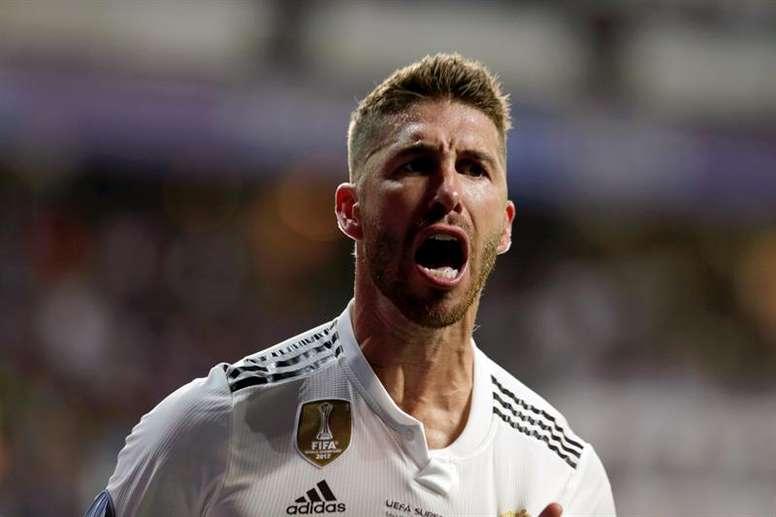 Ramos totalise déjà quatre buts cette saison. EFE