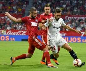 El club andaluz se enfrenta a una dura sanción. EFE