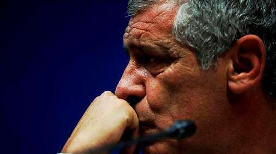 Fernando Santos quiere el Balón de Oro para Cristiano. EFE/Archivo