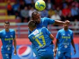 Torneo de Copa de Guatemala: San Pedro vs Cobán Imperial. AFP
